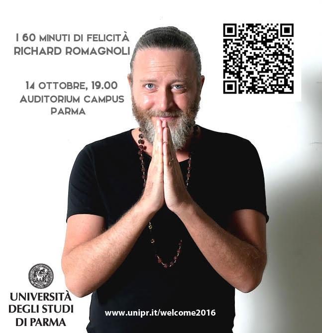 Richard Romagnoli - I 60 minuti di felicità - Università di Parma